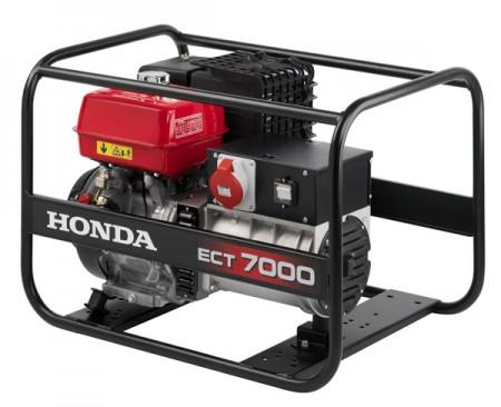 HONDA ECT 7000 áramfejlesztő 1 és 3 fázis