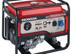 HONDA EM 5500 S önindítós áramfejlesztő